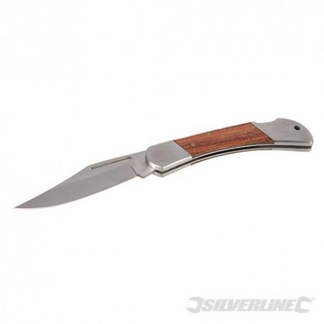 Silverline Folding Lock-Back Utility Knife - 190mm 365642 5024763155932