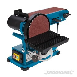 350W Bench Belt & Disc Sander 390mm - 350W