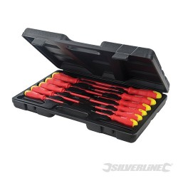 Insulated Soft-Grip Screwdriver Set 11pce - 11pce