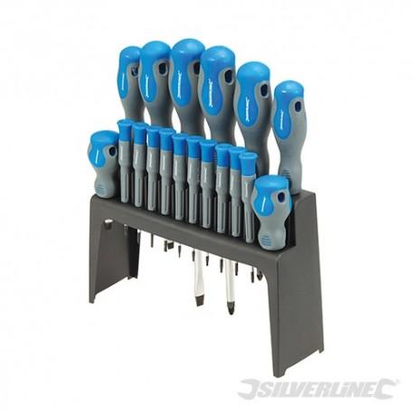 Soft-Grip Screwdriver Set 18pce - 18pce