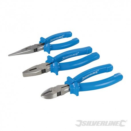 Pliers Set 3pce - 160mm