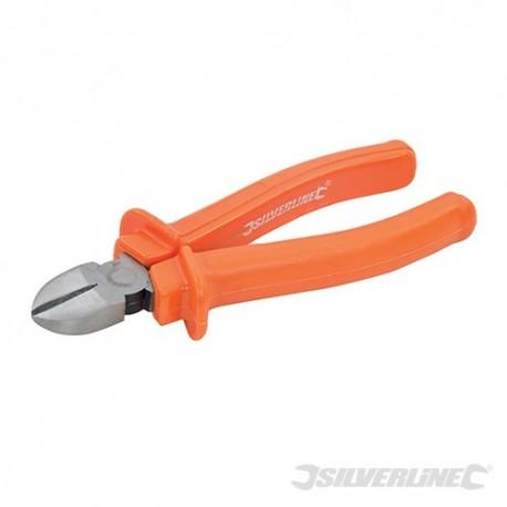 Silverline Boční štípací kleště na kabely - 180mm 633763 5055058177537