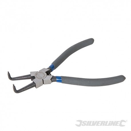 Bent Nose Internal Circlip Pliers - 180mm