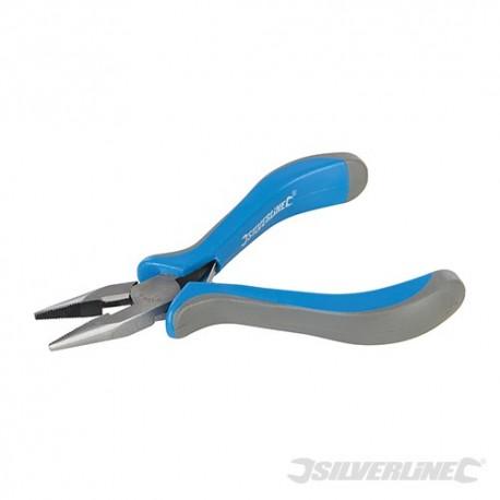 Mini szczypce pólokragle proste - 130 mm