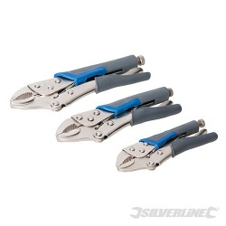 Self Locking Soft-Grip Pliers Set 3pce - 3pce