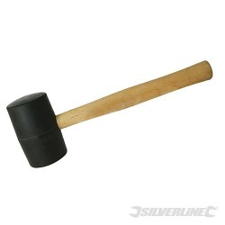 Black Rubber Mallet - 24oz (680g)
