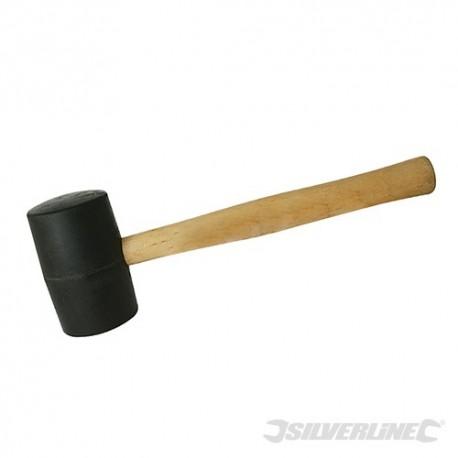 Black Rubber Mallet - 32oz (907g)