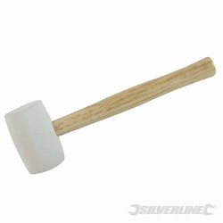 White Rubber Mallet - 32oz (907g)