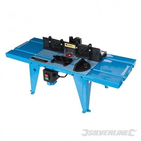DIY Stůl pro vrchní frézu s úhelníkem - 850 x 335mm