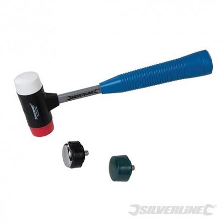 4-in-1 Multi-Head Hammer - 37mm Dia Face