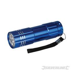 LED Aluminium Torch - 9 LED