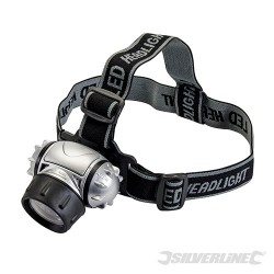 LED Headlamp - 12 LED