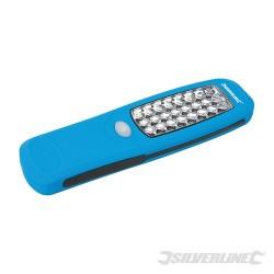LED svítilna s magnetickým upevněním - 24 LED