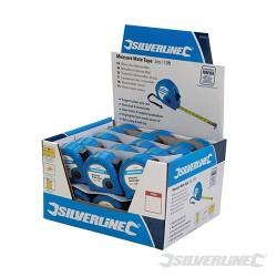 Svinovací metr Measure Mate - prodejní box - 30pce 3m x 16mm