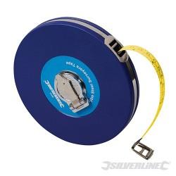 Steel Surveyors Tape - 50m