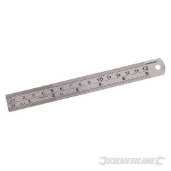 Ocelové pravítko - 150mm