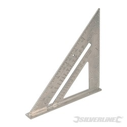 """Aluminium Alloy Roofing Square - 7"""""""