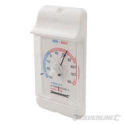 Termometr tarczowy z wyswietlaczem min/max - -30° to +60°C