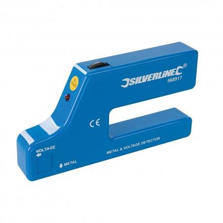 Silverline Detektor kovů a kabelů - 1 x 9V (PP3) 568917 5055058179241