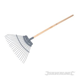 Carbon Steel Lawn Rake - 1730mm