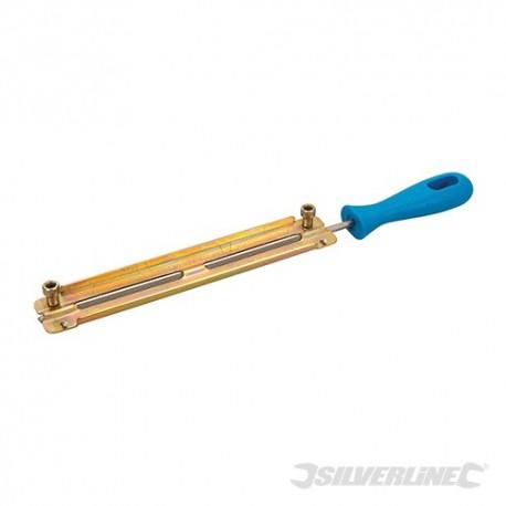 """Silverline Pilník na řetězy motorových pil - 4.8mm / 3/16"""" 153142 5024763031731"""