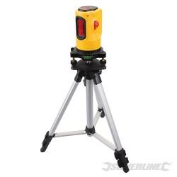 Samopoziomujacy laser rotacyjny - zestaw - Zasieg 10 m