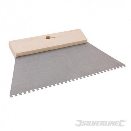Silverline Široká stěrka na lepidlo - 4mm Teeth 634003 5024763036279