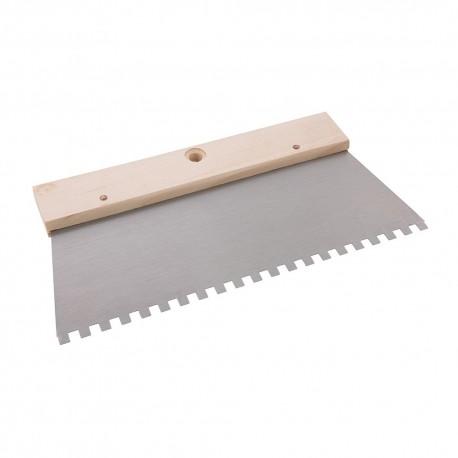 Silverline Široká stěrka na lepidlo - 6mm Teeth 515781 5055058104045