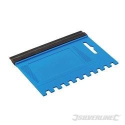 Combination Squeegee Spreader - 125 x 95mm - 6mm Teeth