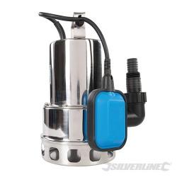 Pompa zanurzeniowa ze stali nierdzewnej do zanieczyszczonej wody, 550 W - 10,5 l/h