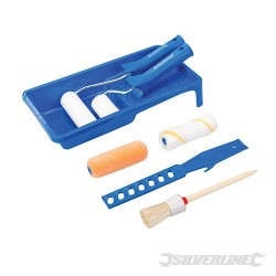 Decorators Roller & Brush Set 9pce - 9pce