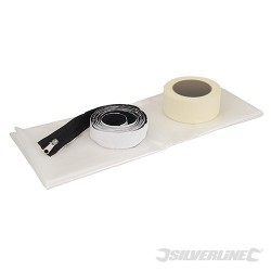 Zipped Doorway Dust Protector Kit - 1.2 x 2.1m