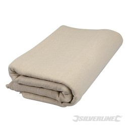 Cotton Fibre Stairs Dust Sheet - 7.2 x 0.9m (23.6' x 3') Approx