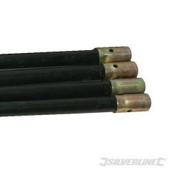 Drain Rods - 4pk Extension Rods