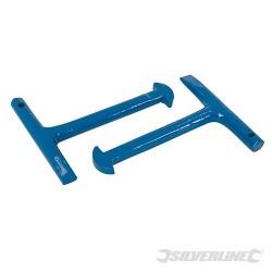 Klucz do pokryw studzienek, 2 szt. - 125 mm