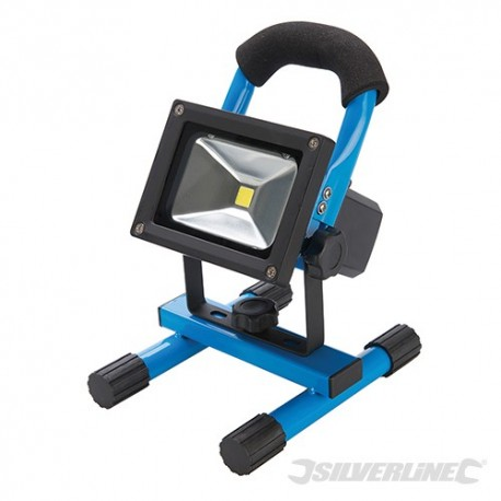 LED Rechargeable Site Light with USB - 10W