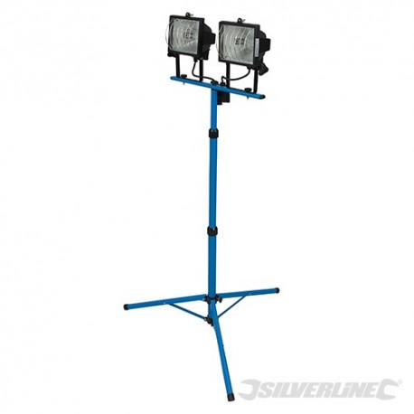 Tripod Twin Site Light - 2 x 400W 230V UK