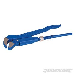 "Adjustable Swedish Pattern Pipe Wrench - Length 320mm – Jaw 25mm (1"")"