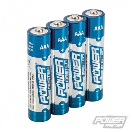 Super alkaliczne baterie AAA LR03, 4 szt. - 4 szt.