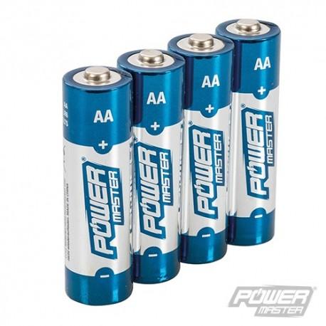 AA Super Alkaline Battery LR6 4pk - 4pk