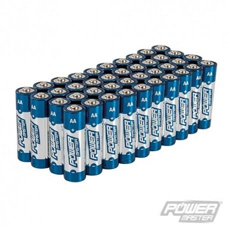 AA Super Alkalické Baterie LR6 40 ks - 40pk