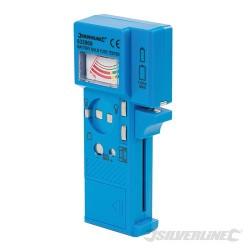 Zkoušečka baterií, žárovek a pojistek - 1.5V - 9V