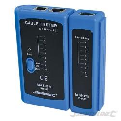 Tester kabli RJ45/RJ11 - RJ45/RJ11