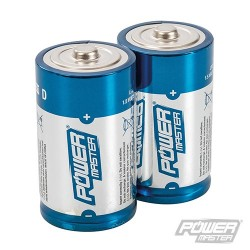 D-Type Super Alkaline Battery LR20 2pk - 2pk