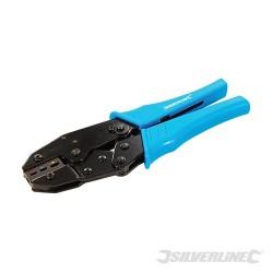 Zaciskarka Expert koncówek kablowych z funkcja grzechotki - 230 mm