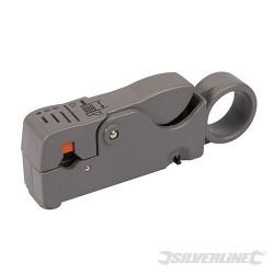 Sciagacz izolacji z kabli koncentrycznych - RG6 / 58 / 59 / 62