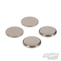 Lithium Button Cell CR2025 4pk - 4pk