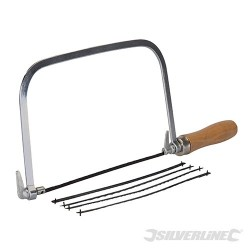 Coping Saw & 5 Blades - 170mm