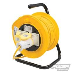 Prodlužovací kabel na bubnu, 110 V - 2 zásuvky - 16A 25m