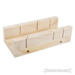 Skrzynka uciosowa drewniana - 250 x 85 mm